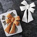 Недорогие -Инструменты для выпечки Силикон Праздник / 3D в мультяшном стиле / Креатив Торты / Шоколад / конфеты Прямоугольный Формы для пирожных 1шт
