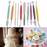 Недорогие -Инструменты для выпечки пластик Своими руками Хлеб / Торты / Cupcake Формы для пирожных / Десерт Декораторы 10 шт.