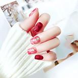 Недорогие -Отделка и украшения / Полностью накладные ногти Емкости для нейл-арта и макияжа На каждый день / Тренировочные Переносной Классический / Pro