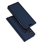 Недорогие -Кейс для Назначение Xiaomi Mi 8 / Mi 8 SE Флип / Ультратонкий Чехол Однотонный Твердый Кожа PU для Xiaomi Mi Mix 2 / Xiaomi Mi Mix 2S / Xiaomi Mi Mix