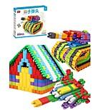 Недорогие -Взаимосоединяющиеся блоки Творчество Новинки / Танк 400 pcs Куски Детские Подарок