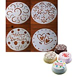 cheap -Bakeware tools Plastic Creative / Christmas / DIY For Cookie / For Cupcake / For Chocolate Cake Molds / Cookie Cutters / Dessert Tools