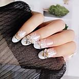 Недорогие -Полностью накладные ногти Емкости для нейл-арта и макияжа На каждый день Мода Классический