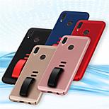 Недорогие -Кейс для Назначение Huawei P20 Pro / P20 lite Кольца-держатели Кейс на заднюю панель Однотонный Твердый ПК для Huawei P20 / Huawei P20 Pro / Huawei P20 lite