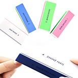 Недорогие -2pcs маникюр Квадратные / Высокое качество На каждый день Губка для ногтей