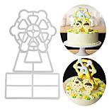Недорогие -Инструменты для выпечки Алюминий Новое поступление / 3D / Своими руками Для торта / Вечеринка / День рождения Формы для пирожных 3шт