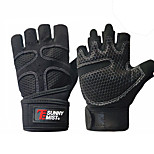 cheap -Exercise Gloves Exercise & Fitness / Gym Half Finger Mesh Anti-Slip / Breathable / Sweat Absorbent