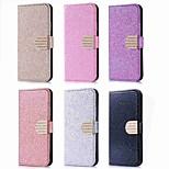 Недорогие -Кейс для Назначение Huawei P20 Pro / P20 lite Бумажник для карт / Стразы / со стендом Чехол Сияние и блеск Твердый Кожа PU для Huawei P20