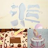 Недорогие -Инструменты для выпечки Алюминий Новое поступление / 3D / Своими руками Для торта / Вечеринка / День рождения Формы для пирожных 7pcs