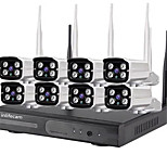 economico -8ch 720p trade assurance 8channel wifi camera 720p cctv wireless nvr kit per cctv kit 8 telecamere