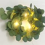 economico -2m Fili luminosi 20 LED 1pc Bianco caldo San Valentino Natale Feste Decorativo Decorazione di nozze di Natale Batterie AA alimentate