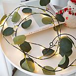 economico -2m 20 led eucalipto vite led stringa luce funzionamento a batteria decorazione della stanza di natale luci in rattan decorazione di san valentino luci fatate