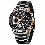 economico -watch for men sport fashion dress orologio analogico al quarzo uomo impermeabile orologio da polso in acciaio inossidabile con cronografo data luminoso litbwat