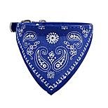 economico -bandane per cani, bavaglini triangolari, fazzoletti per cani, accessori per sciarpe per cani piccoli e grandi gatti animali domestici (blu)