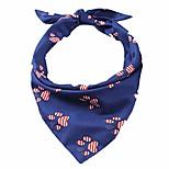 economico -bandiera americana cane bandana bandiera usa accessori decorazione per cani di piccola e media taglia (zampa)