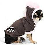 economico -felpa con cappuccio per cani con teschio mohawk rosa taglia: piccola
