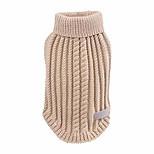 abordables -xxs-m vêtements de chien pour animaux de compagnie vêtements col roulé chien pull gilet souple pour automne hiver