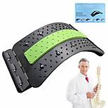 economico -barella per la schiena, dispositivo per alleviare il dolore lombare, massaggiatore per la schiena regolabile, correttore di postura, trattamento di allungamento della schiena per ernia del disco,