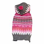 abordables -manteau chaud pour chien tenue de noël - vêtements pour animaux de compagnie de flocon de neige de noël adorable costume de chien d'hiver confortable pull pour chiot pour la décoration (taille xs)
