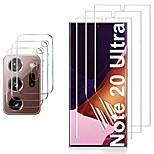 economico -telefono Proteggi Schermo Samsung Note 20 Ultra Vetro temperato 2 pz Alta definizione (HD) Anti-graffi Proteggi lente frontale e fotocamera Appendini per cellulare