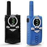 cheap -2pcs Toy Walkie Talkie Kids Radio Station 0.5W 7km Two-way radio Transceiver with Flashlight Communicator Children Birthday Gift4.8