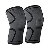 abordables -orthèse de genou, genouillères - récupération premium& manchon de compression pour la course à pied, le jogging, le sport, le soulagement des douleurs articulaires, l'arthrite et la récupération