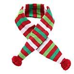 economico -Prodotti per cani Sciarpa per cani Vestiti del cucciolo Natale Babbo Natale Cosplay Natale Inverno Abbigliamento per cani Vestiti del cucciolo Abiti per cani Verde Costume Cane grande per ragazza e