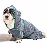 economico -asciugamano per cani, asciugamano per animali da bagno con cappuccio oversize in microfibra, accappatoio per cani morbido e super assorbente, mantello per asciugare il cane, coperta per cani con borsa