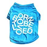economico -dog shirt, 2019new small pet dog clothes t shirt costume summer puppy cat vest fashion letters pet apparel