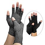 economico -erogazione guanti a pressione indoor fitness uomini e donne sport mezze dita antiscivolo gonfiore articolare guanti da infermiera per la riabilitazione