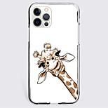 economico -Animali Astuccio Per Mela iPhone 12 iPhone 11 iPhone 12 Pro Max Design unico Custodia protettiva Resistente agli urti Per retro TPU