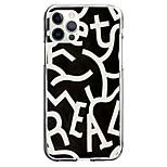 economico -Geometria Alfabetico Astuccio Per Mela iPhone 12 iPhone 11 iPhone 12 Pro Max Design unico Custodia protettiva Resistente agli urti Fantasia / disegno Per retro TPU