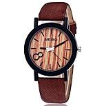 economico -regalo orologio wensltd vendita di liquidazione! orologio da donna in pelle color legno