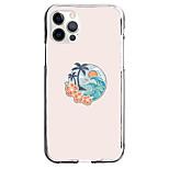 abordables -Paysage Balle Cas Pour Pomme iPhone 12 iPhone 11 iPhone 12 Pro Max Modèle unique Étui de protection Antichoc Motif Coque TPU