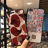 abordables -téléphone Coque Pour Apple Coque Arriere iPhone 12 Pro Max 11 SE 2020 X XR XS Max 8 7 6 Antichoc Brillant Carreau vernisé Formes Géométriques TPU