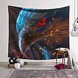 abordables -Tapisserie murale art décor couverture rideau suspendu maison chambre salon décoration polyester tête d'aigle