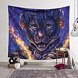 abordables -Tapisserie murale art décor couverture rideau suspendu maison chambre salon décoration polyester mignon tigre