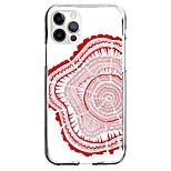 abordables -Peinture Décoration artistique Cas Pour iPhone 12 iPhone 11 iPhone 12 Pro Max Modèle unique Étui de protection Motif Coque TPU