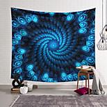 abordables -Tapisserie murale art décor couverture rideau suspendu maison chambre salon décoration polyester espace bleu trou noir