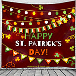 abordables -heureux st. patrick's day tapisserie murale art décor couverture rideau suspendu maison chambre salon décoration