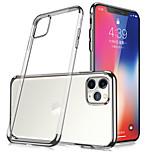 abordables -téléphone Coque Pour Apple Coque Arriere iPhone 12 Pro Max 11 SE 2020 X XR XS Max 8 7 6 Antichoc Etanche à la Poussière Transparente TPU