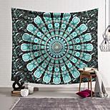 abordables -Tapisserie murale art décor couverture rideau suspendu maison chambre salon décoration polyester vitrail