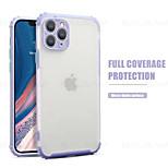 abordables -téléphone Coque Pour Apple Coque Arriere iPhone 12 Pro Max 11 SE 2020 X XR XS Max 8 7 Antichoc Dépoli Transparente Transparente TPU