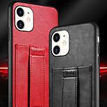 abordables -téléphone Coque Pour Apple Coque Arriere Wallet iPhone 12 Pro Max 11 SE 2020 X XR XS Max 8 7 Portefeuille Antichoc Etanche à la Poussière Couleur Pleine faux cuir TPU