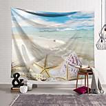 abordables -Tapisserie murale art décor couverture rideau suspendu maison chambre salon décoration polyester étoile de mer