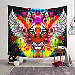 abordables -Tapisserie murale art décor couverture rideau suspendu maison chambre salon décoration polyester couleur tigre