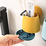 abordables -Outils Lavable / Auto-Adhésives / Rangement Moderne contemporain Plastique 2 pièces - Bonnet de bain organisation de bain