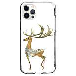 abordables -Cerf Animal Cas Pour Pomme iPhone 12 iPhone 11 iPhone 12 Pro Max Modèle unique Étui de protection Antichoc Motif Coque TPU