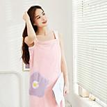 abordables -jupe de bain en polaire corail serviette de bain absorbante épaissie jupe de bain en écharpe domestique peignoir à séchage rapide