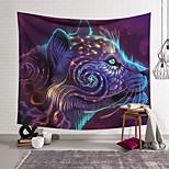 abordables -Tapisserie murale art décor couverture rideau suspendu maison chambre salon décoration polyester animaux colorés